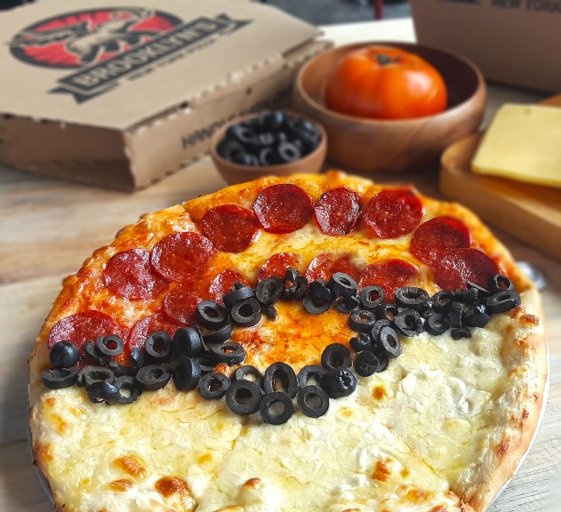 Pokeball Pizza